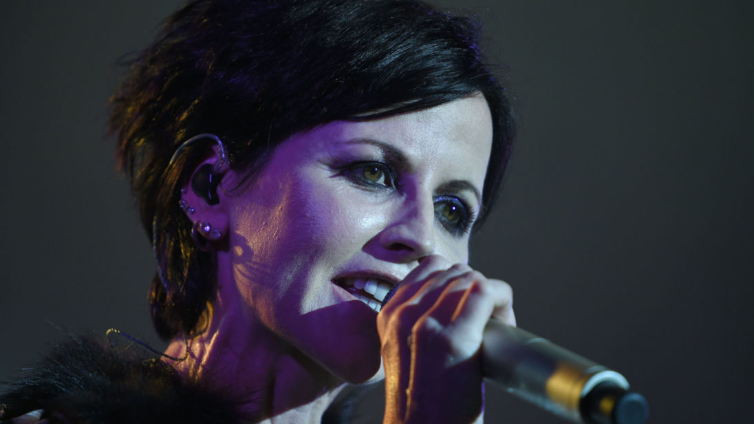 Irish singer Dolores O'Riordan